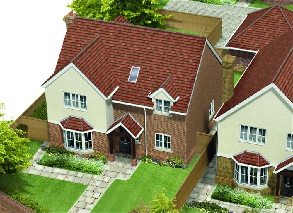 4 Bedrooms Detached House for sale in Unit 2, St James Gate, St James Lane, Horns Cross, Greenhithe
