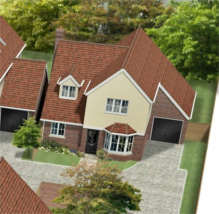 4 Bedrooms Detached House for sale in Unit 3, St James Gate, St James Lane, Horns Cross, Greenhithe