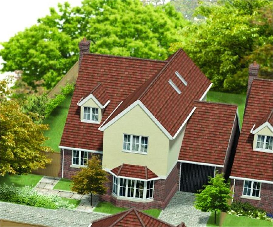 4 Bedrooms Detached House for sale in Unit 4, St James Gate, St James Lane, Horns Cross, Greenhithe