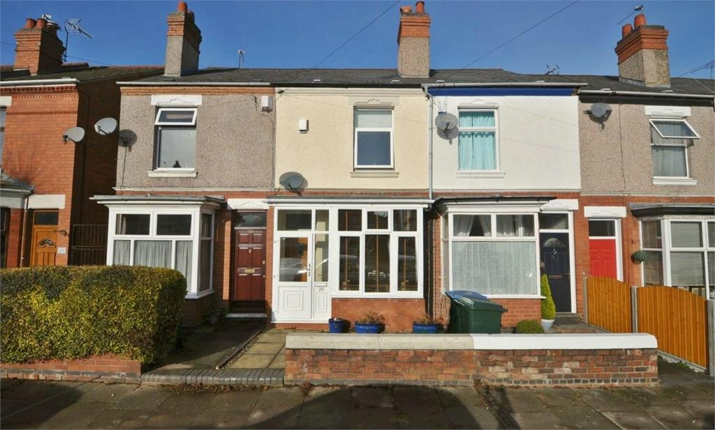 2 Bedrooms Terraced House for sale in Mayfield Road, Earlsdon, COVENTRY, West Midlands