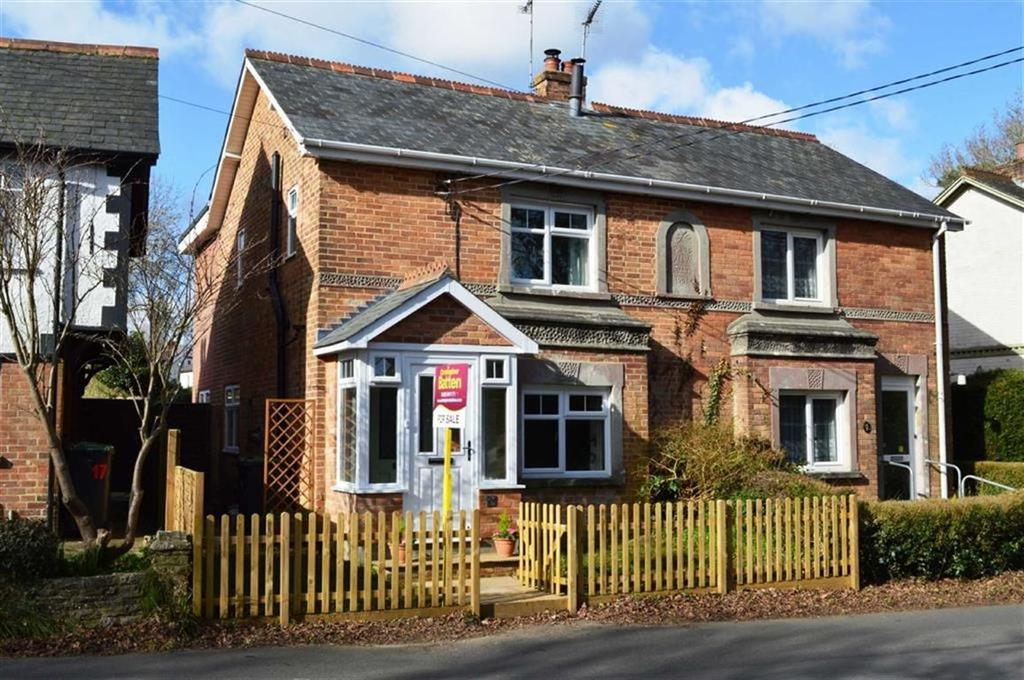 3 Bedrooms Semi Detached House for sale in Greenhill Road, Wimborne, Dorset