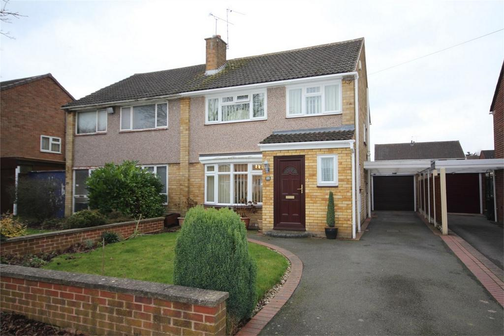 3 Bedrooms Semi Detached House for sale in Fox Avenue, Weddington, Nuneaton