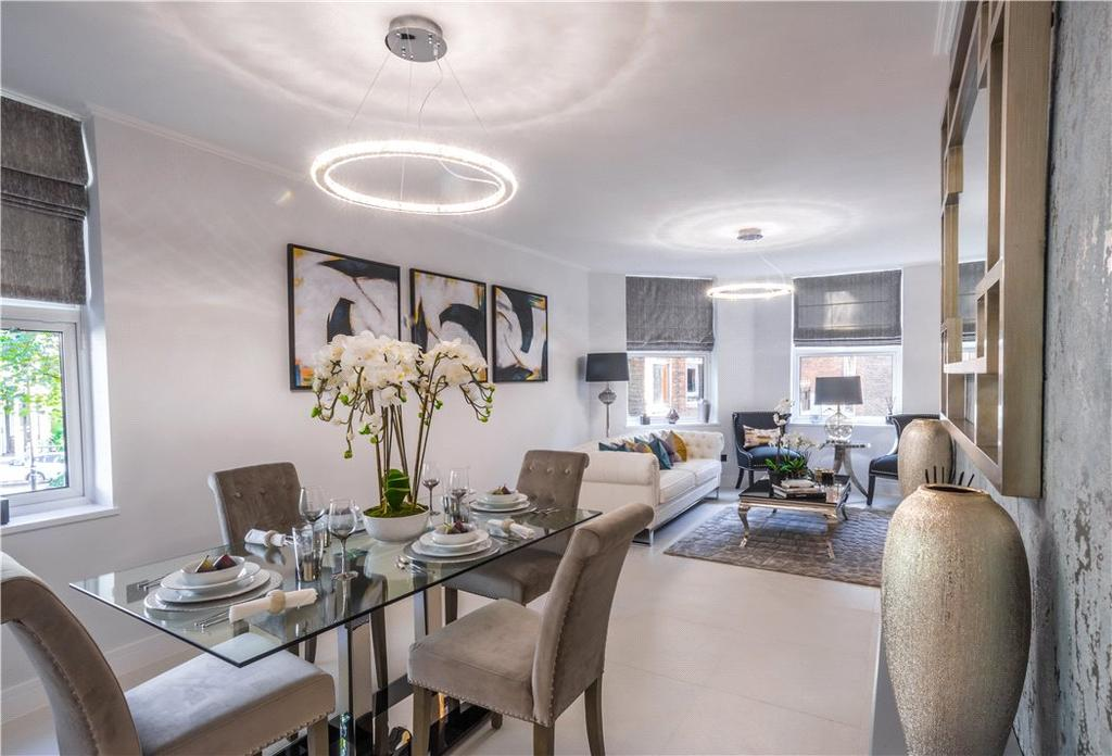 3 Bedrooms Flat for sale in Manor House Court, 11 Warrington Gardens, Little Venice, W9