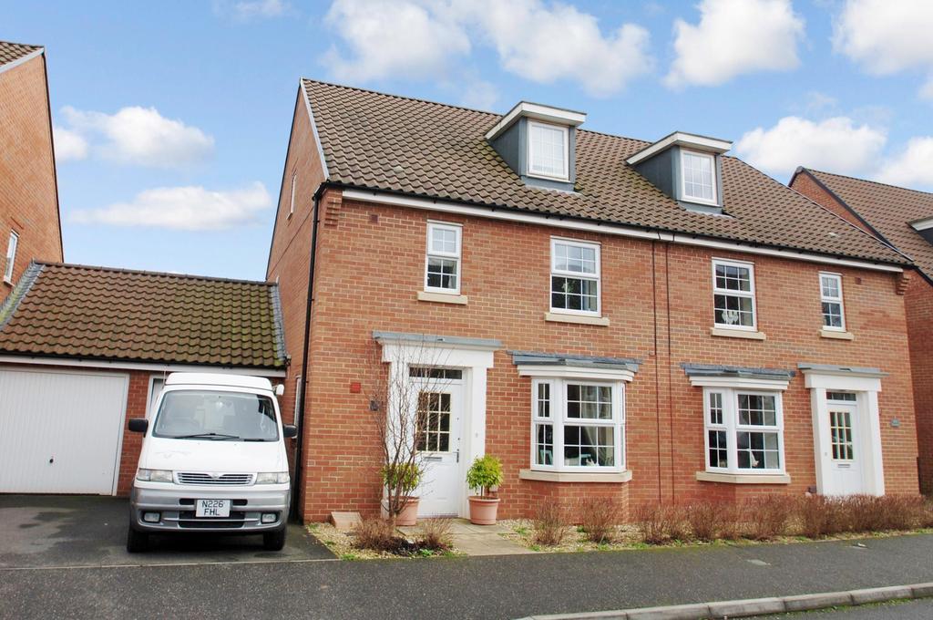 4 Bedrooms Semi Detached House for sale in Collett Road, Norton Fitzwarren