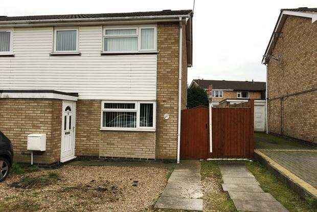 3 Bedrooms Semi Detached House for sale in Clayton Drive, Thurmaston, LE4