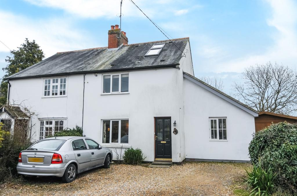 4 Bedrooms Semi Detached House for sale in North Stroud Lane, Stroud, GU32