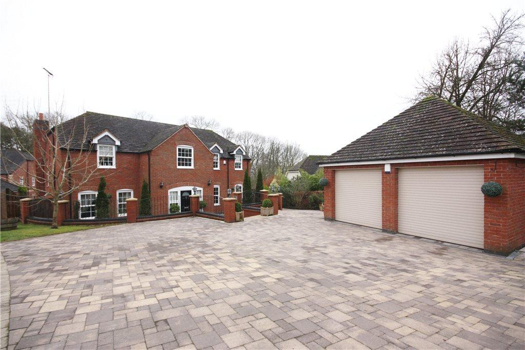 5 Bedrooms Detached House for sale in Manders Close, Astwood Bank, Redditch, Worcestershire, B96