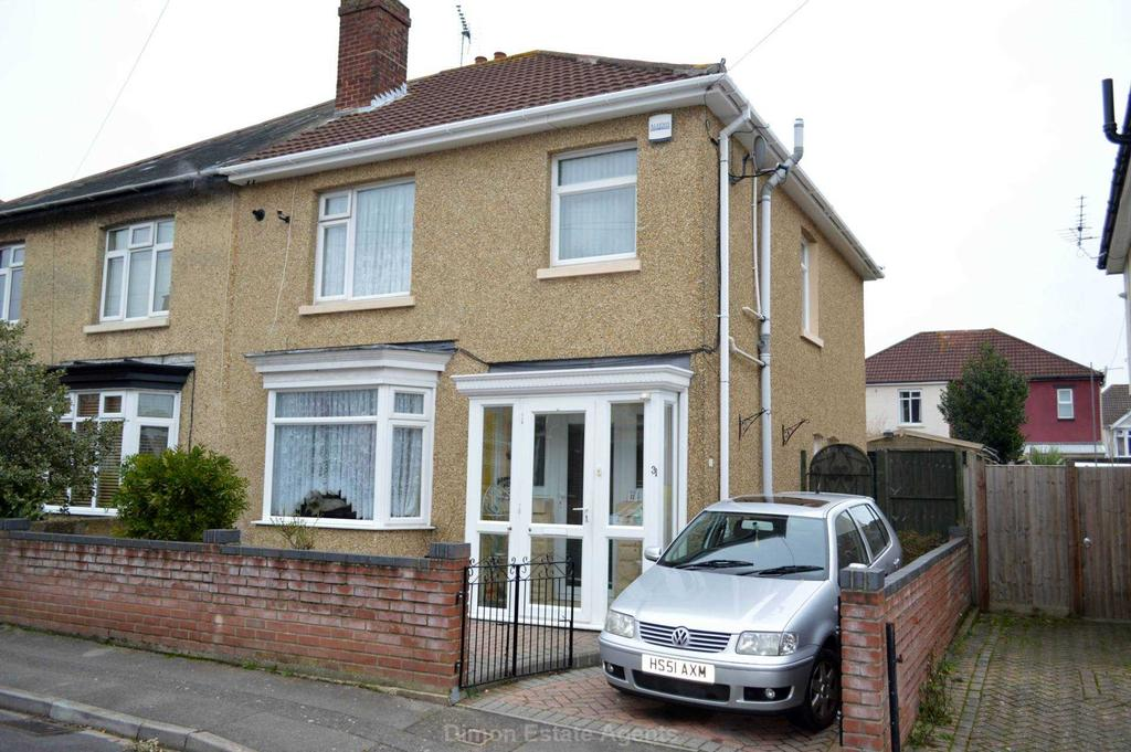 3 Bedrooms Semi Detached House for sale in Molesworth Road, Gosport
