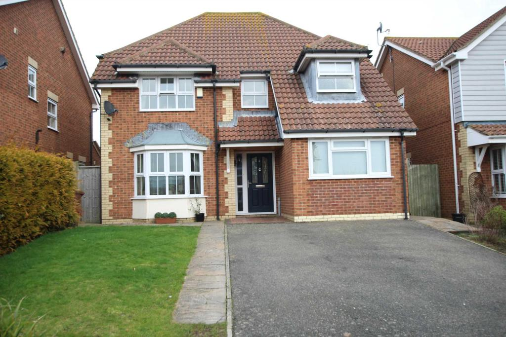 4 Bedrooms Detached House for sale in Cherwell Close, Stone Cross, BN24 5PL
