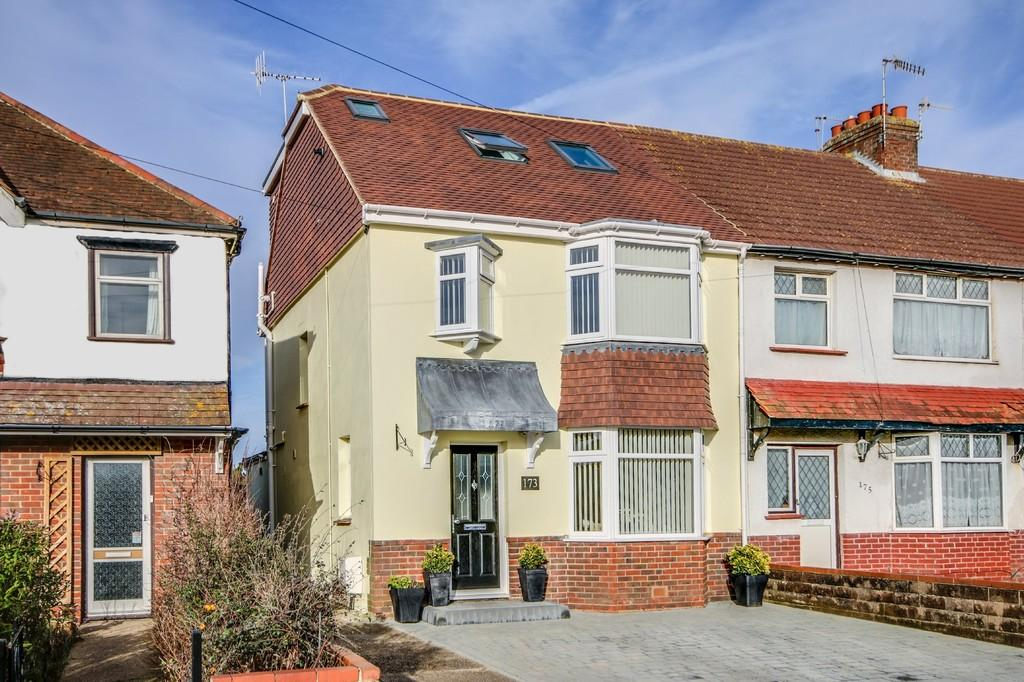 4 Bedrooms End Of Terrace House for sale in Southwick
