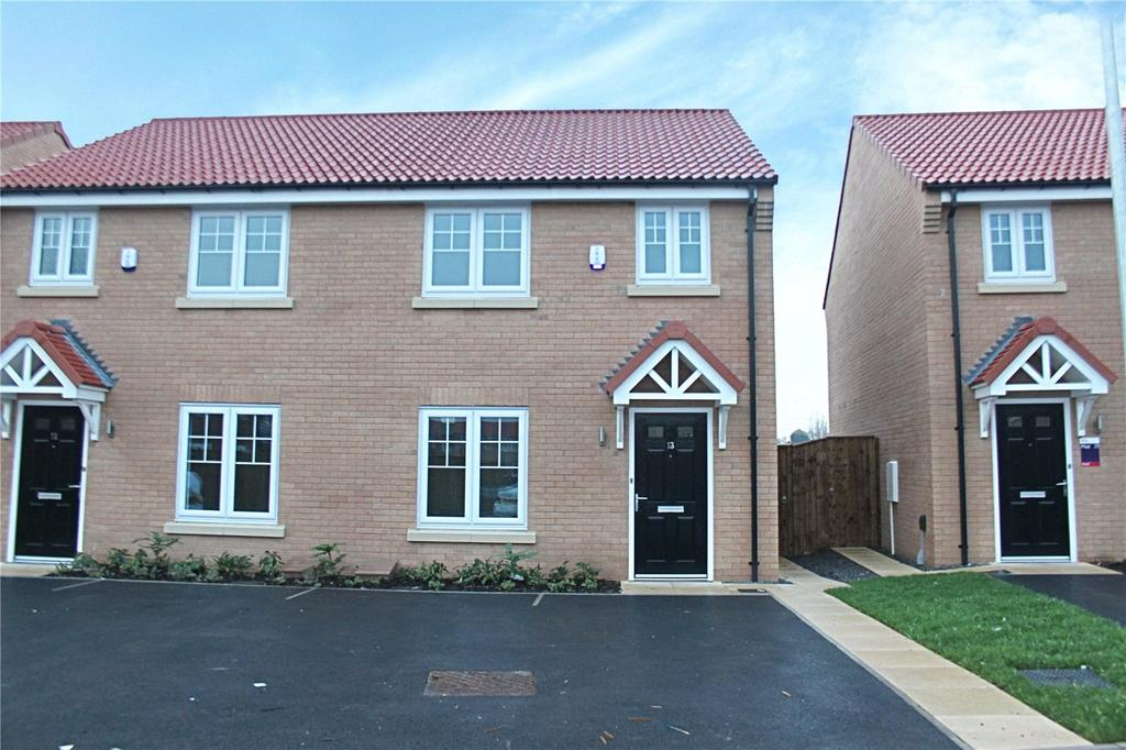 3 Bedrooms Semi Detached House for sale in Sumburgh Close, Sadlers View