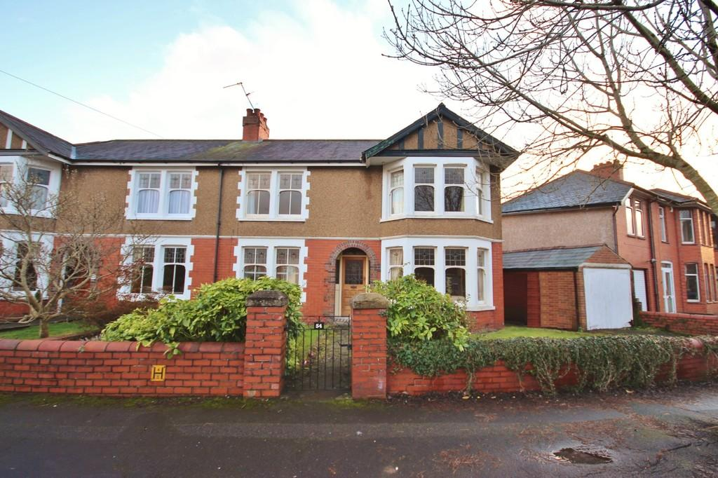 3 Bedrooms Semi Detached House for sale in St. Johns Crescent, Whitchurch, Cardiff