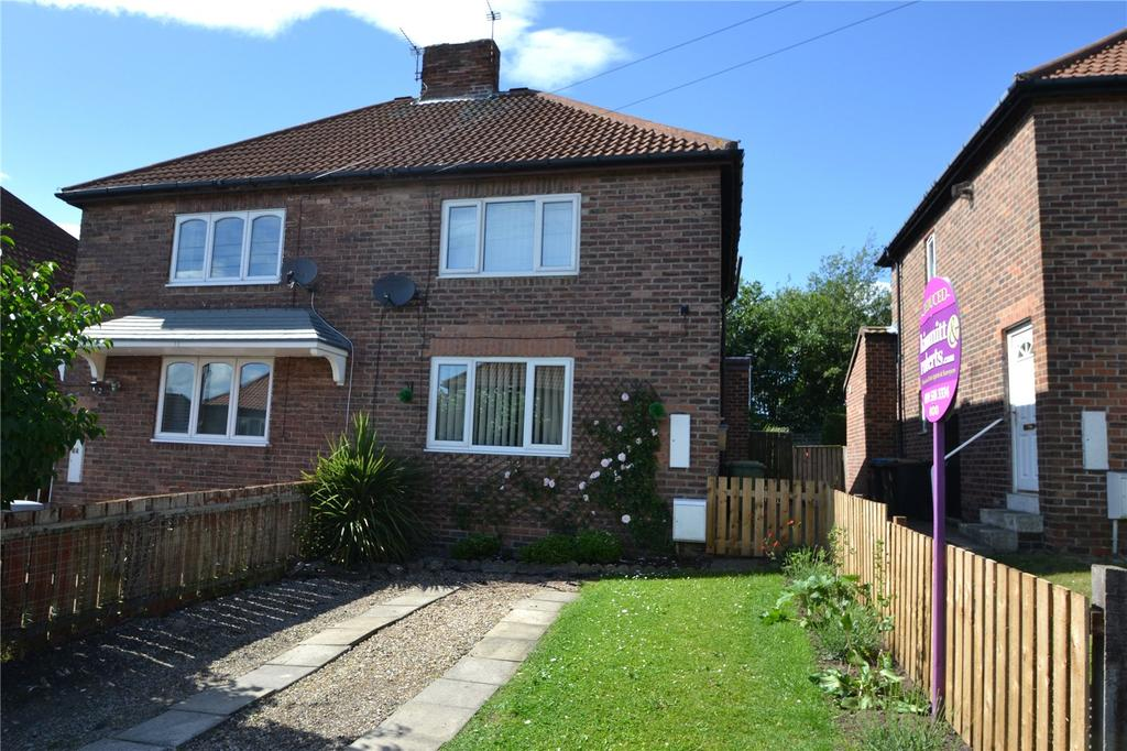 2 Bedrooms Semi Detached House for sale in Manisty Terrace, Easington Colliery, Peterlee, Co.Durham, SR8