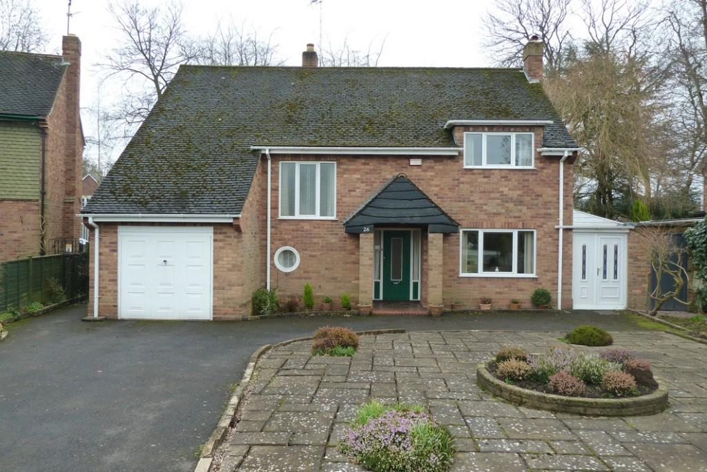 4 Bedrooms Detached House for sale in The Parklands, Finchfield, Wolverhampton