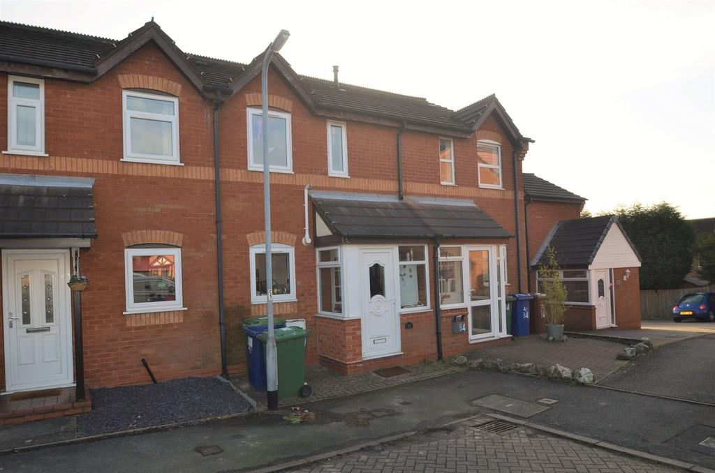 2 Bedrooms Terraced House for sale in Blake Close, Cannock