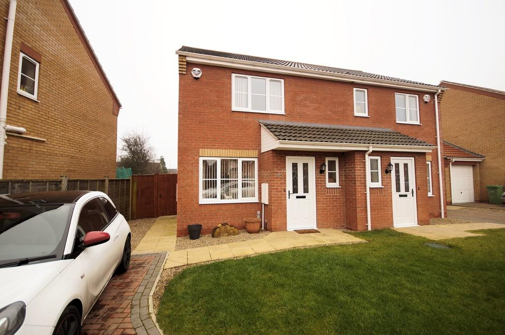 2 Bedrooms Semi Detached House for sale in Jubilee Close, Cherry Willingham, Lincoln