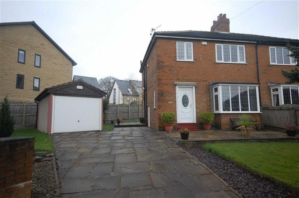 3 Bedrooms Semi Detached House for sale in Woodsome Avenue, Stocks Bank Road, Mirfield, WF14