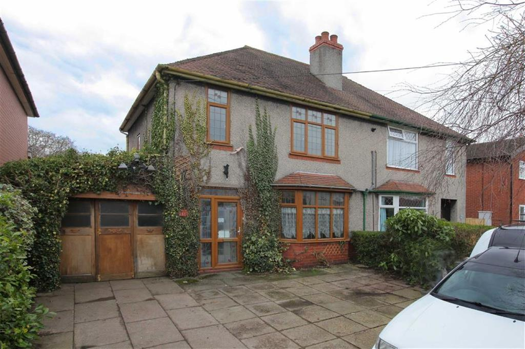 3 Bedrooms Semi Detached House for sale in Crewe Road, Crewe, Cheshire