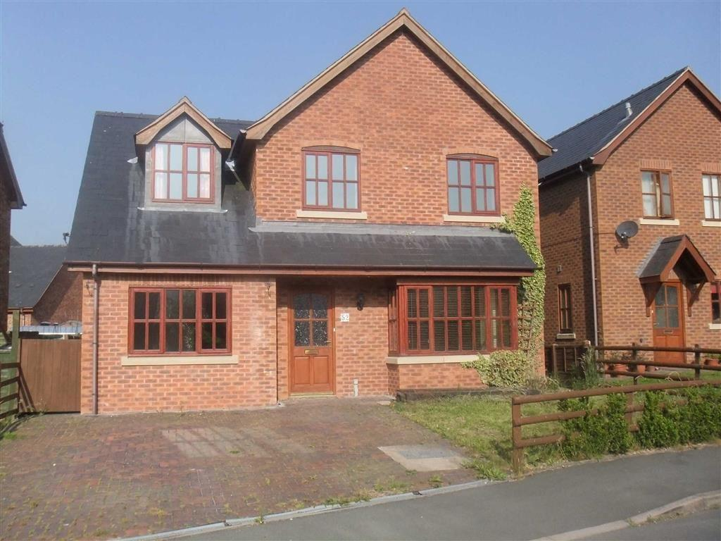 4 Bedrooms Detached House for sale in 52, Parc Hafod, Tregynon, Newtown, Powys, SY16