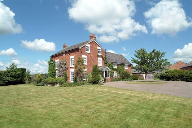 6 Bedrooms Detached House for sale in Lostford Manor, Mickley, Tern Hill, Market Drayton