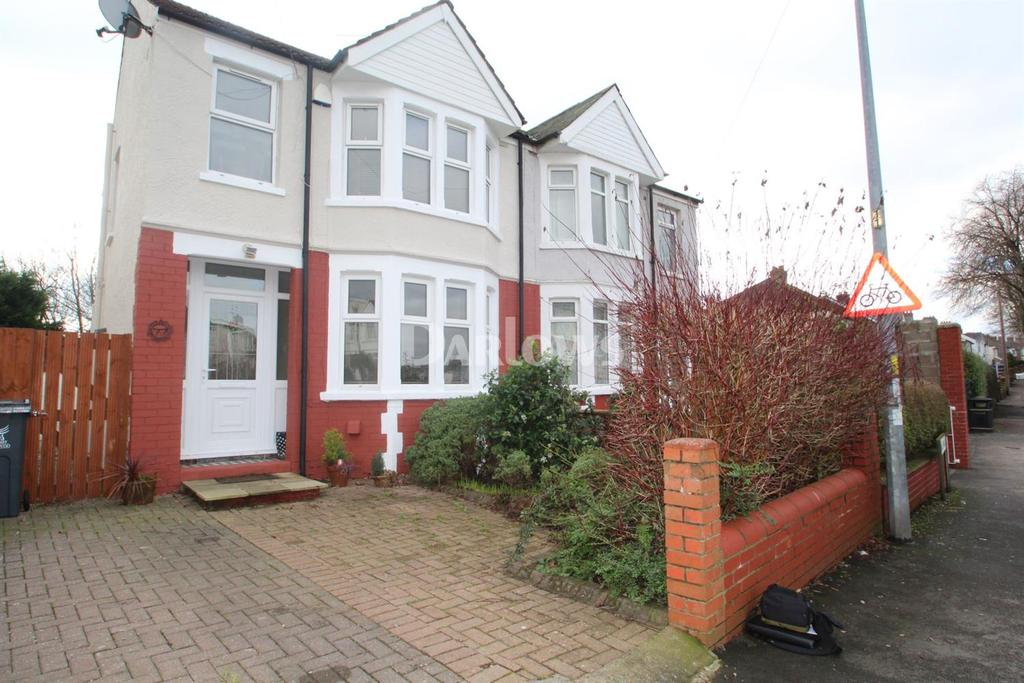 3 Bedrooms Semi Detached House for sale in Bwlch Road , Fairwater Cardiff
