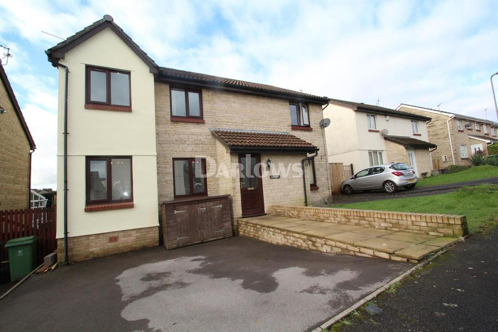 4 Bedrooms Semi Detached House for sale in De Braose Close, Danescort, Llandaff