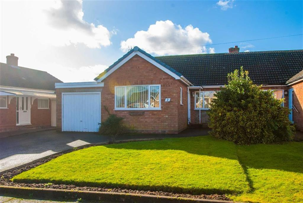 2 Bedrooms Semi Detached Bungalow for sale in Darby Avenue, Whittington, Staffordshire