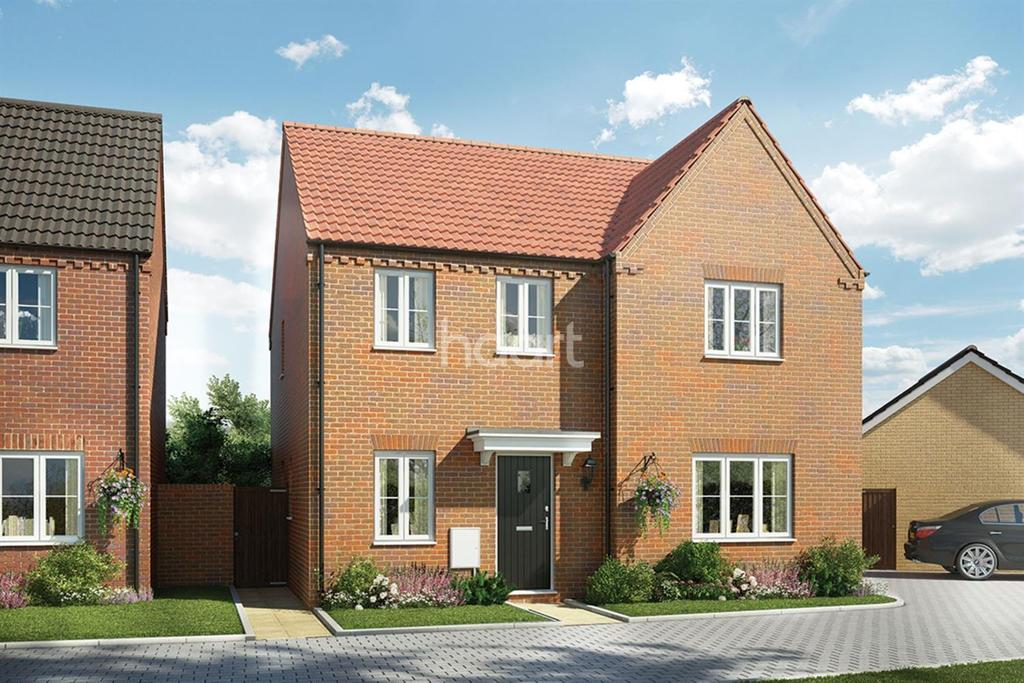 4 Bedrooms Detached House for sale in East Norwich