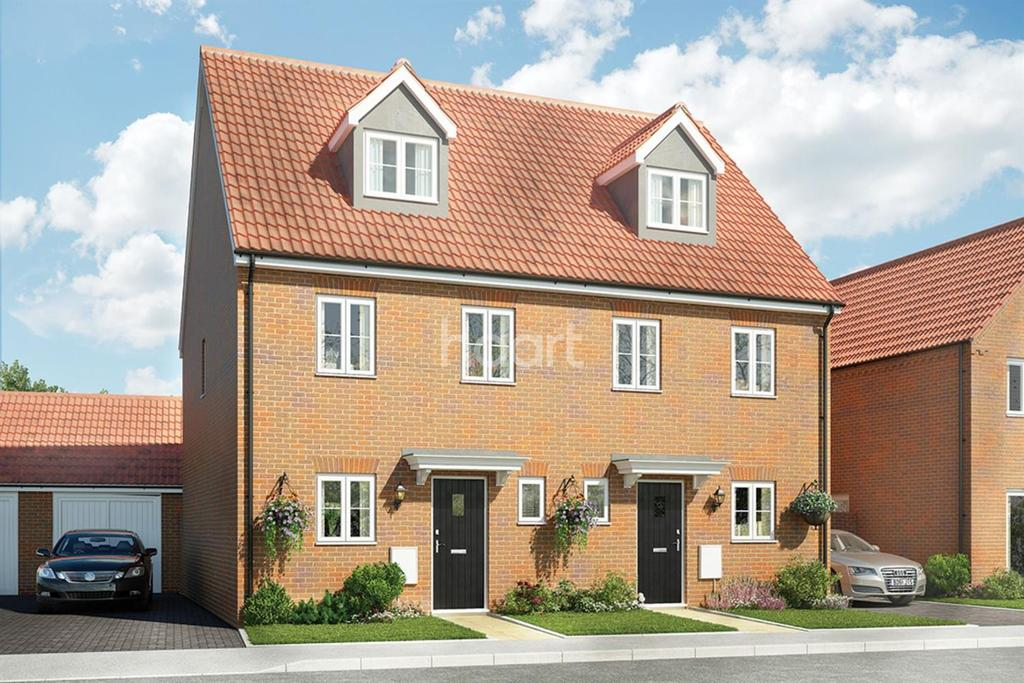 3 Bedrooms Semi Detached House for sale in East Norwich