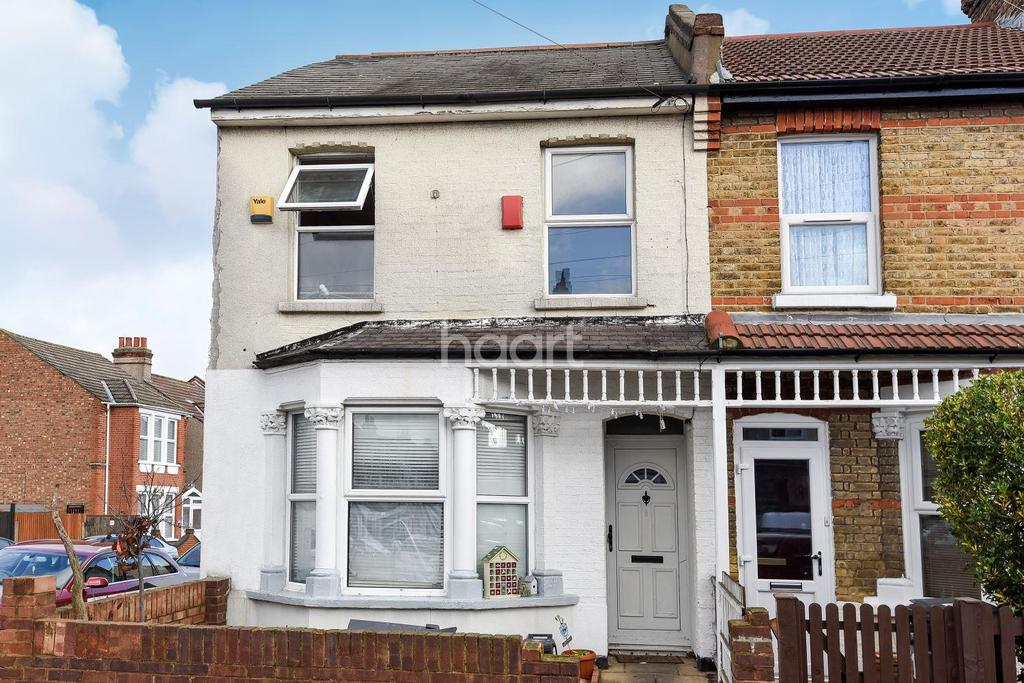 2 Bedrooms End Of Terrace House for sale in Penshurst Road, Thornton Heath, CR7