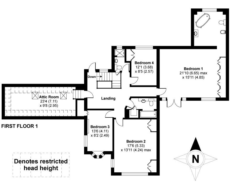 Floorplan 2 of 6: First Floor One