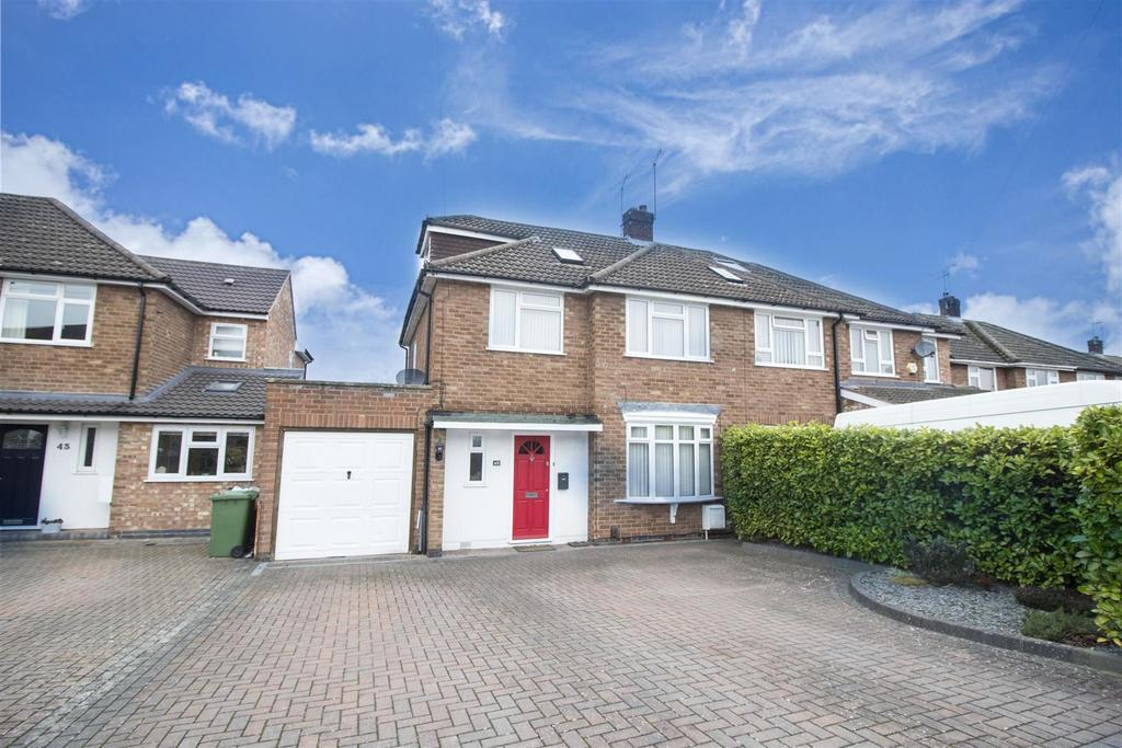 4 Bedrooms Semi Detached House for sale in Beaufort Avenue, Leamington Spa