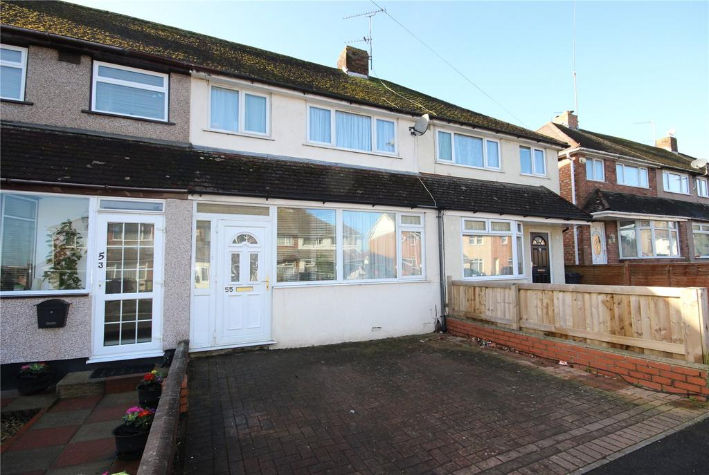 3 Bedrooms Terraced House for sale in Stroud Road, Patchway, Bristol, BS34