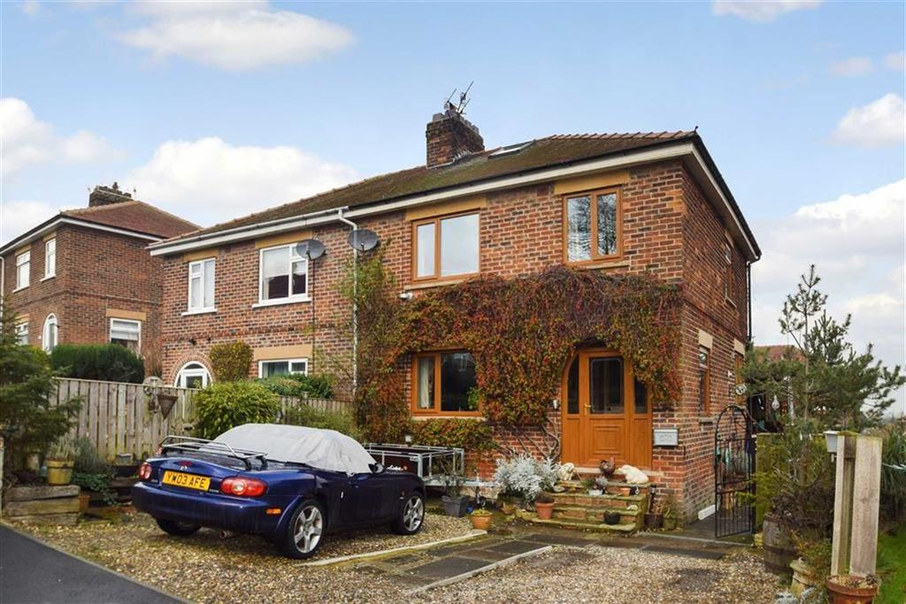 3 Bedrooms Semi Detached House for sale in The Uplands, Newby, North Yorkshire, YO12