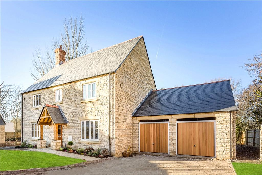 4 Bedrooms Detached House for sale in Burycroft, Lower Wanborough, Swindon, SN4