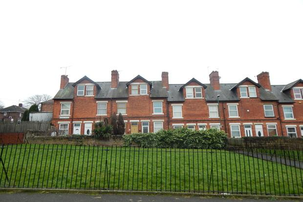 2 Bedrooms Terraced House for sale in Victoria Terrace, Nottingham, NG2