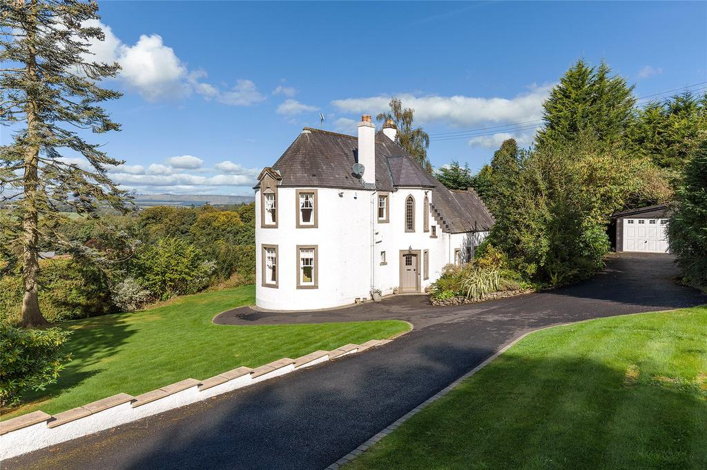 4 Bedrooms Detached House for sale in Khyber House, Upper Glen Road, Bridge Of Allan, Stirling, FK9