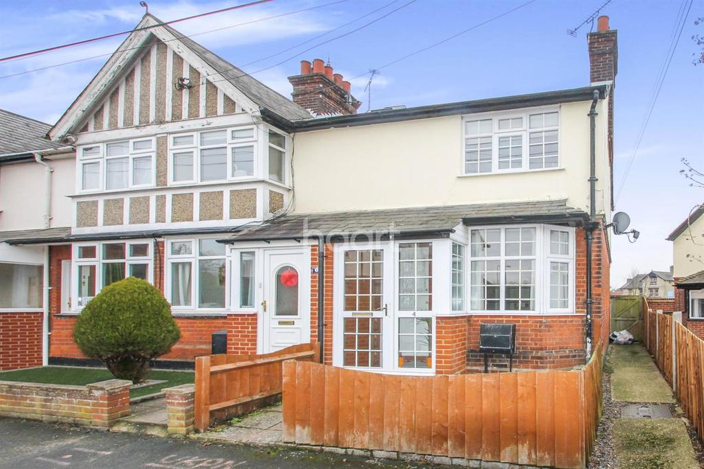 2 Bedrooms End Of Terrace House for sale in Grenville Road, Braintree
