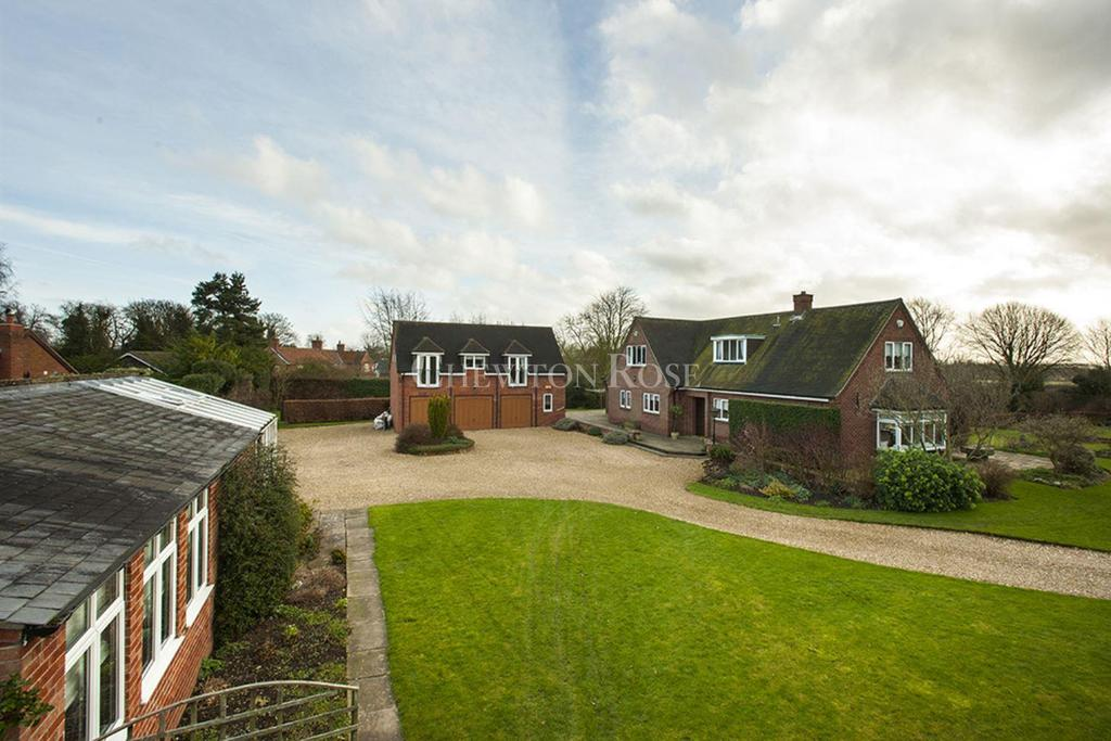 4 Bedrooms Detached House for sale in Stubton, Newark, Nottinghamshire