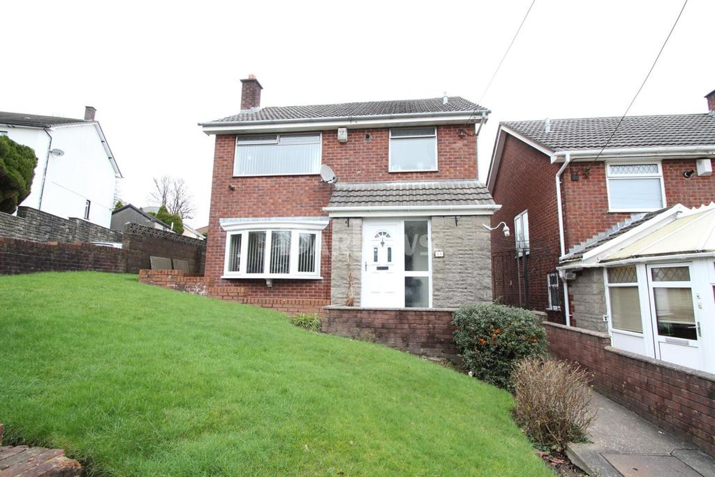 3 Bedrooms Detached House for sale in Kings Hill, Hengoed