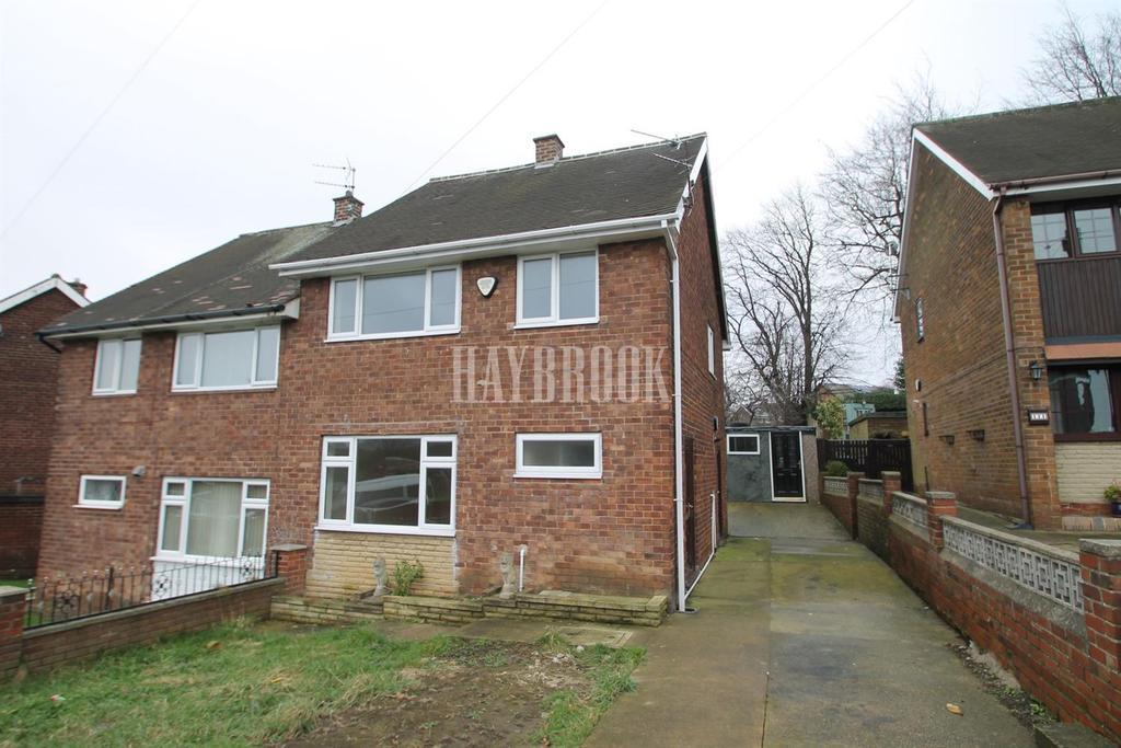 3 Bedrooms Semi Detached House for sale in Laudsdale Road, East Herringthorpe , Rotherham