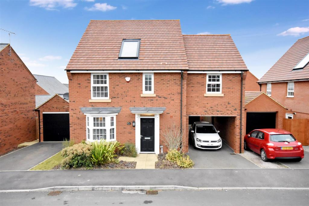4 Bedrooms Detached House for sale in Mallory Way, Burton Latimer, Kettering