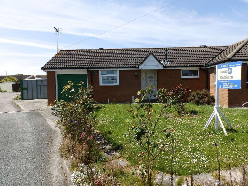 1 Bedroom Semi Detached Bungalow for sale in Lon Wen, Rhyl