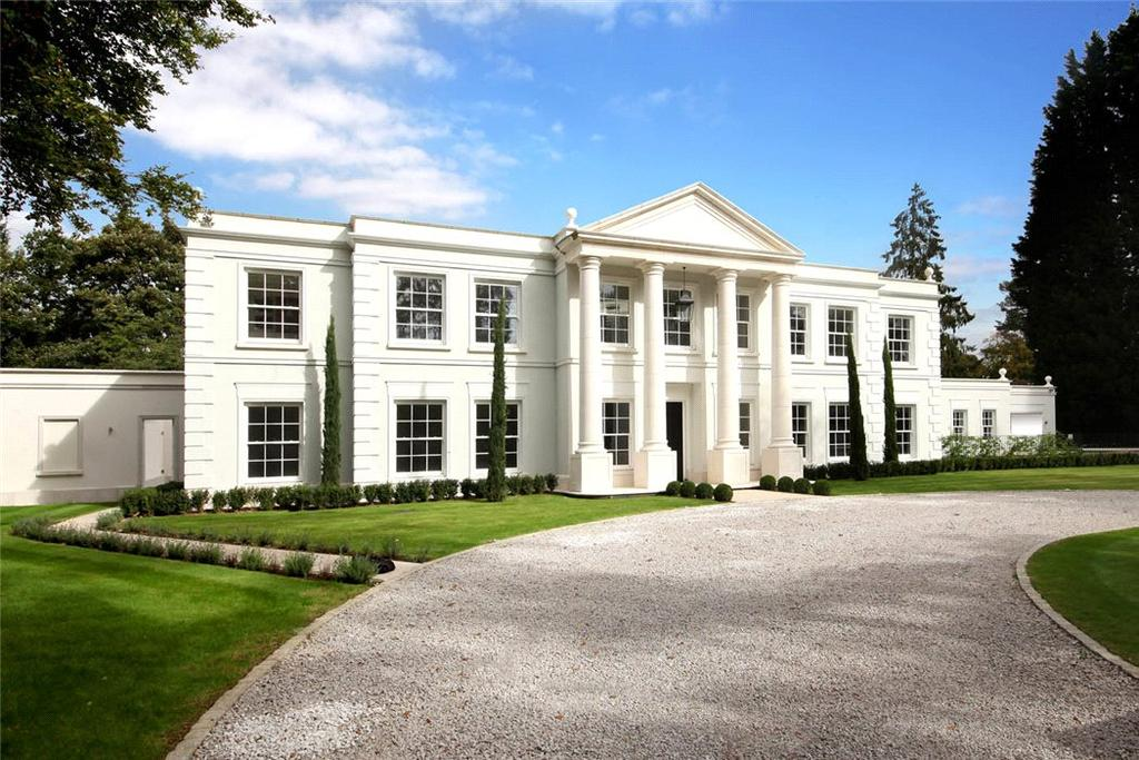 5 Bedrooms Detached House for sale in Waverley Drive, Wentworth, Virginia Water, Surrey, GU25