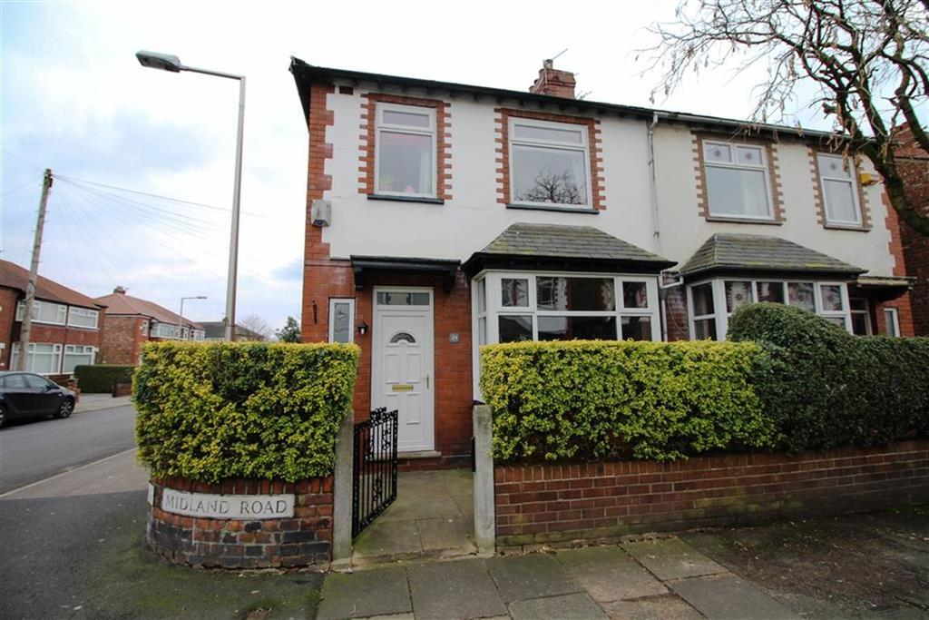 3 Bedrooms Semi Detached House for sale in Midland Road, Reddish, Stockport