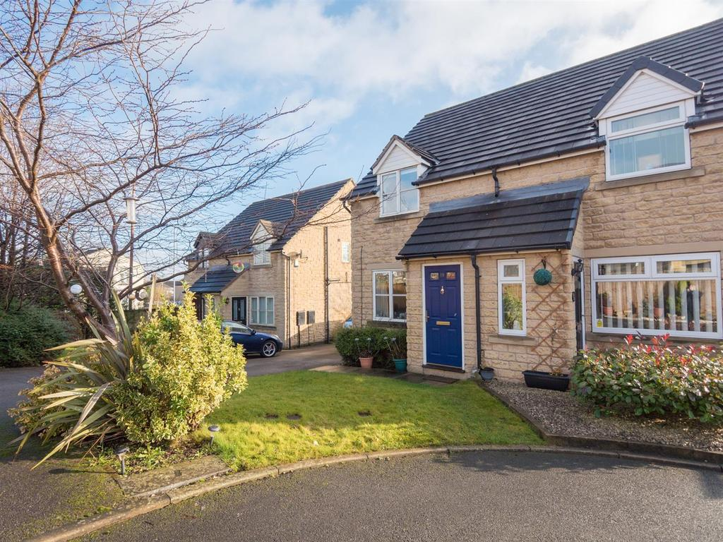 2 Bedrooms Semi Detached House for sale in Laceby Close, Bradford, BD10 9JQ
