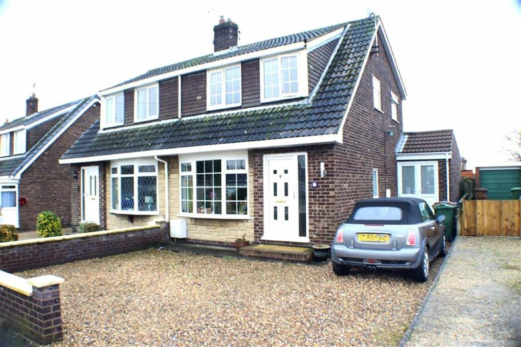 3 Bedrooms Semi Detached House for sale in Westgate Meadows, Nafferton, East Yorkshire