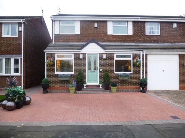 3 Bedrooms Semi Detached House for sale in TREVARREN DRIVE, RYHOPE, SUNDERLAND SOUTH