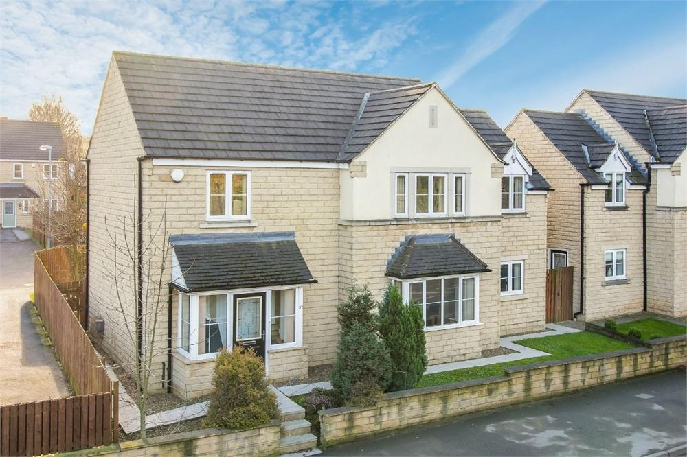 5 Bedrooms Detached House for sale in Whitehall Road, Drighlington, West Yorkshire