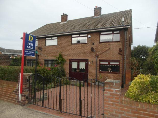 3 Bedrooms Semi Detached House for sale in NORMANBY CLOSE, SEAHAM, SEAHAM DISTRICT